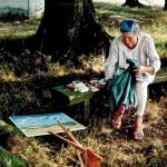 Malerei im Freien